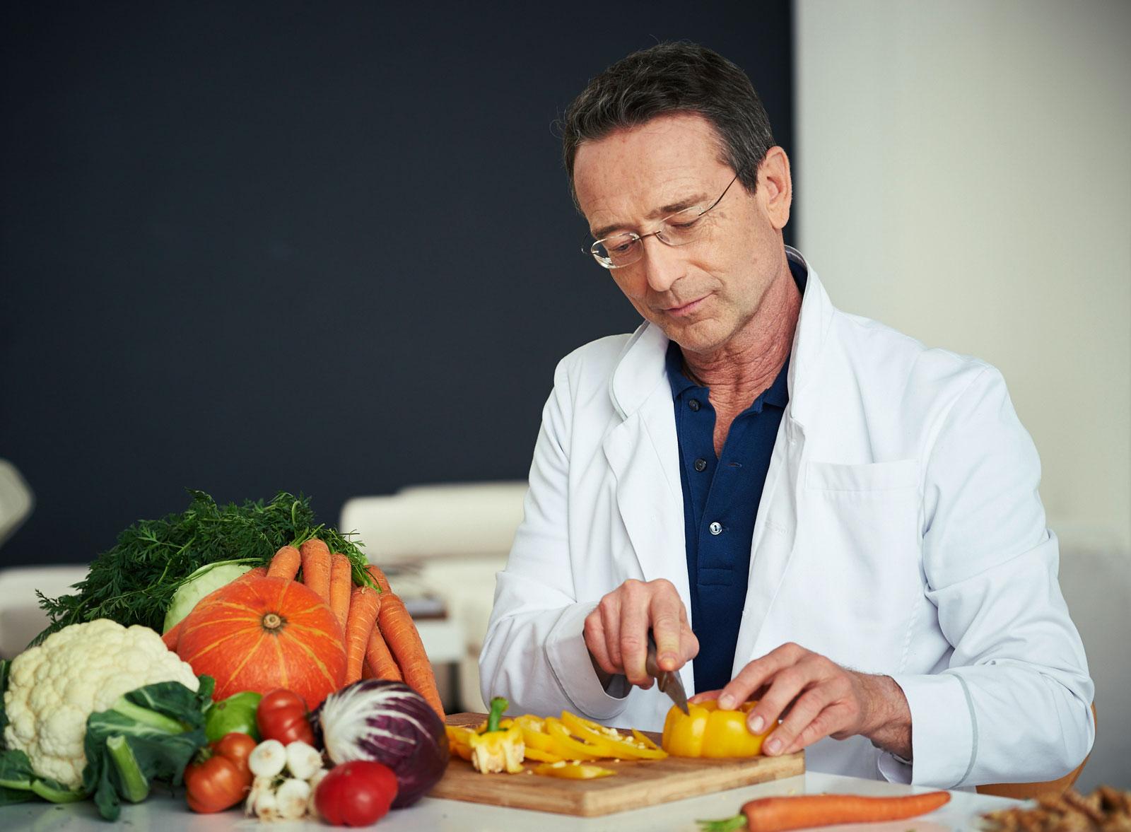 Gemüse sollte der Hauptanteil unserer Ernährung sein.