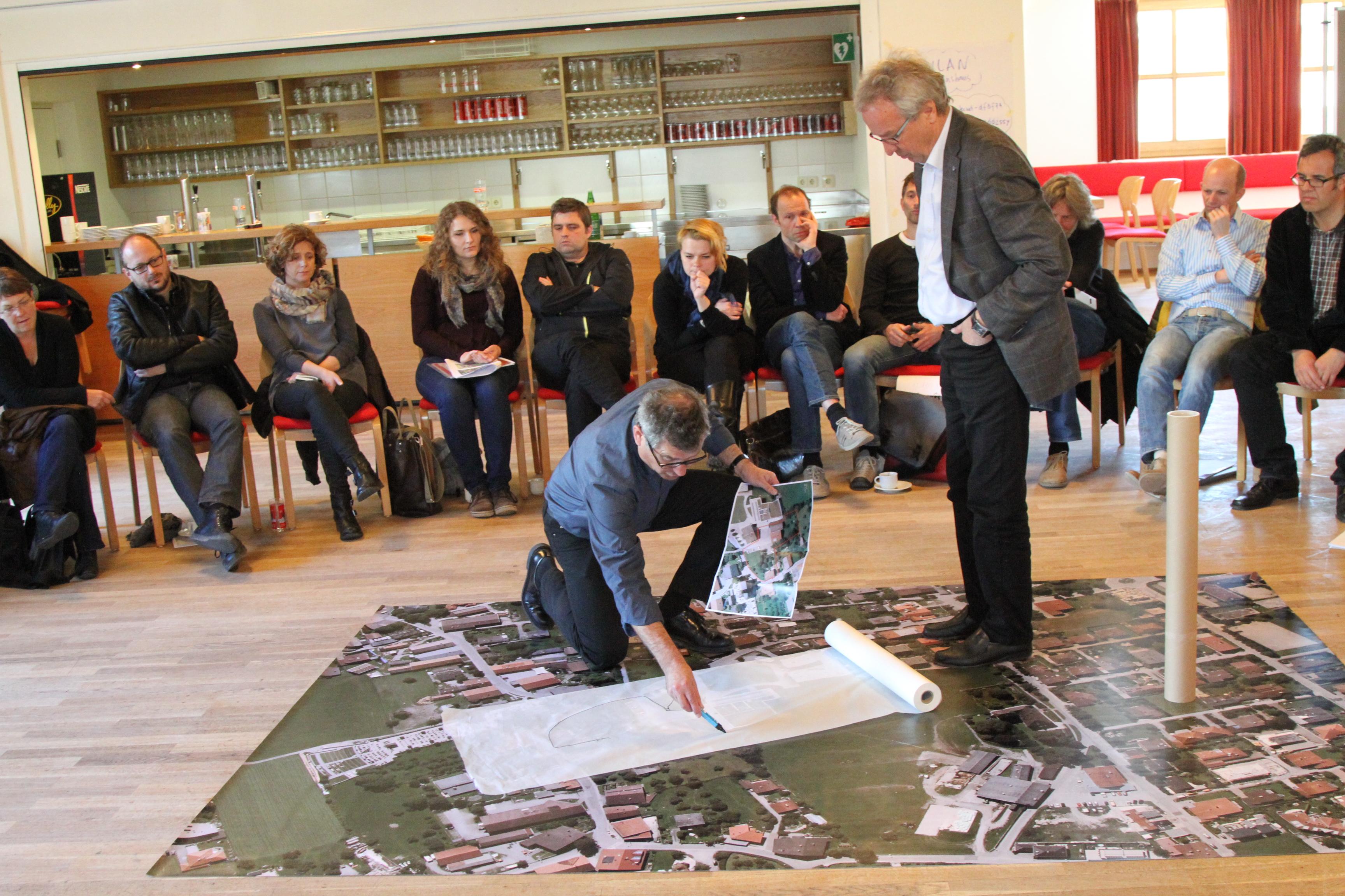Kreativer Ausnahmezustand: Die Architekten von nonconform entwickelt mit den Bürgerinnen und Bürgern gemeinsam die Zukunft der Stadt.