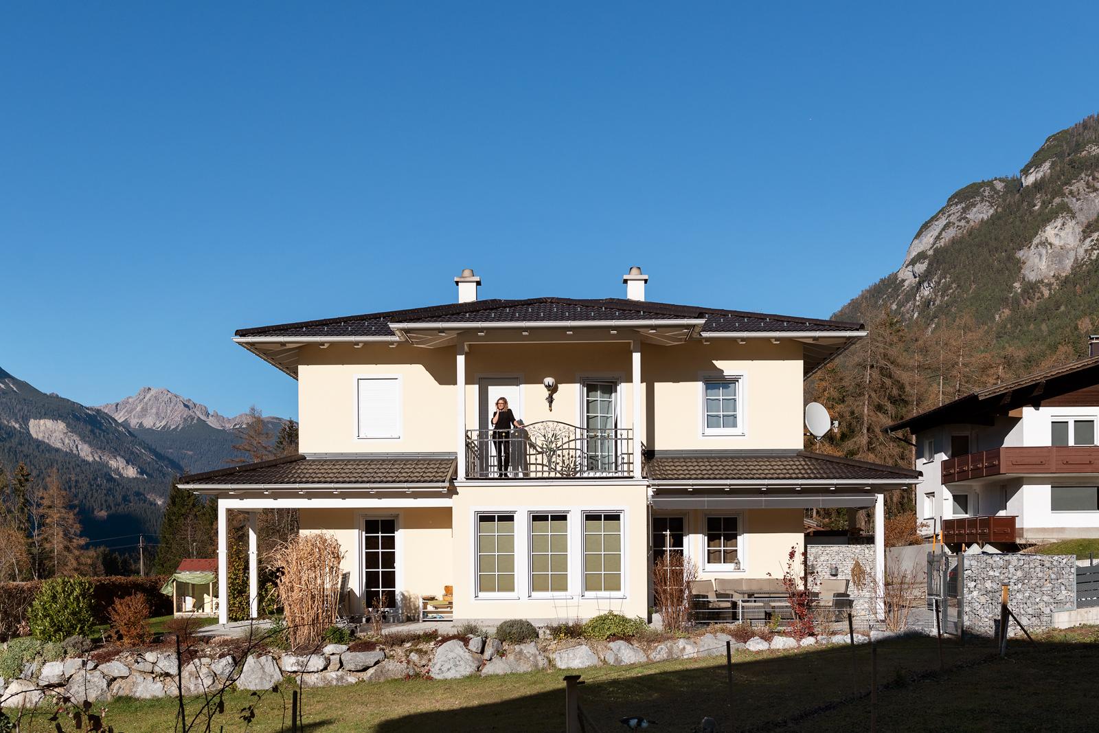 Umgeben von Natur: Das Haus der Perls liegt in Elmen im Lechtal.