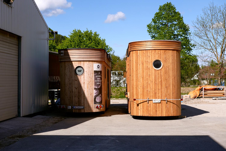 Die Idee im Vordergrund: Neben kompletten Tiny Houses verkauft Wohnwagon auch passende Bauteile.