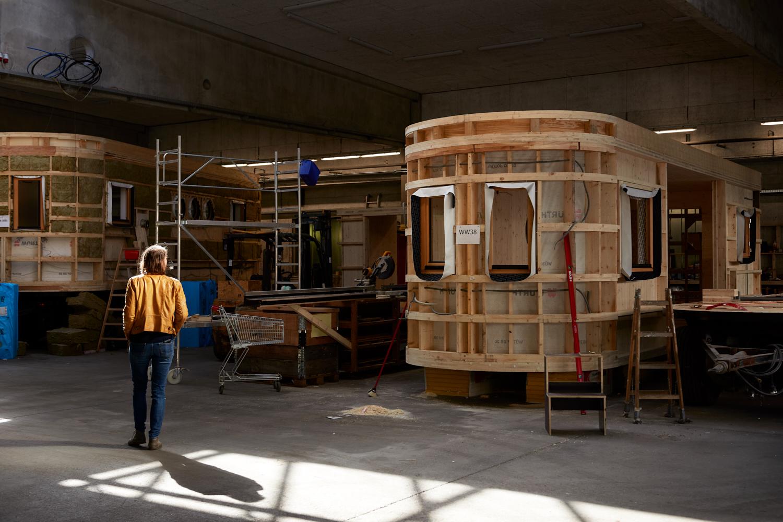 Tiny-House-Liebe: Seit 2012 arbeitet Theresa Steininger an der Entwicklung natürlicher Wohnwagons.