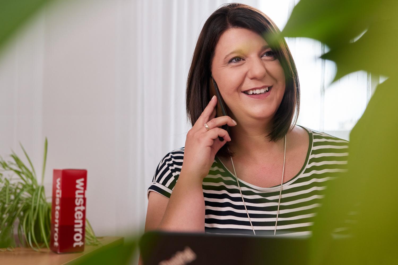 Wiedereinstieg: Nicole Neuherz kehrte nach sechs Jahren Elternzeit zurück an ihren Arbeitsplatz. Gerade hat sie ihre BÖV-Prüfung abgelegt.