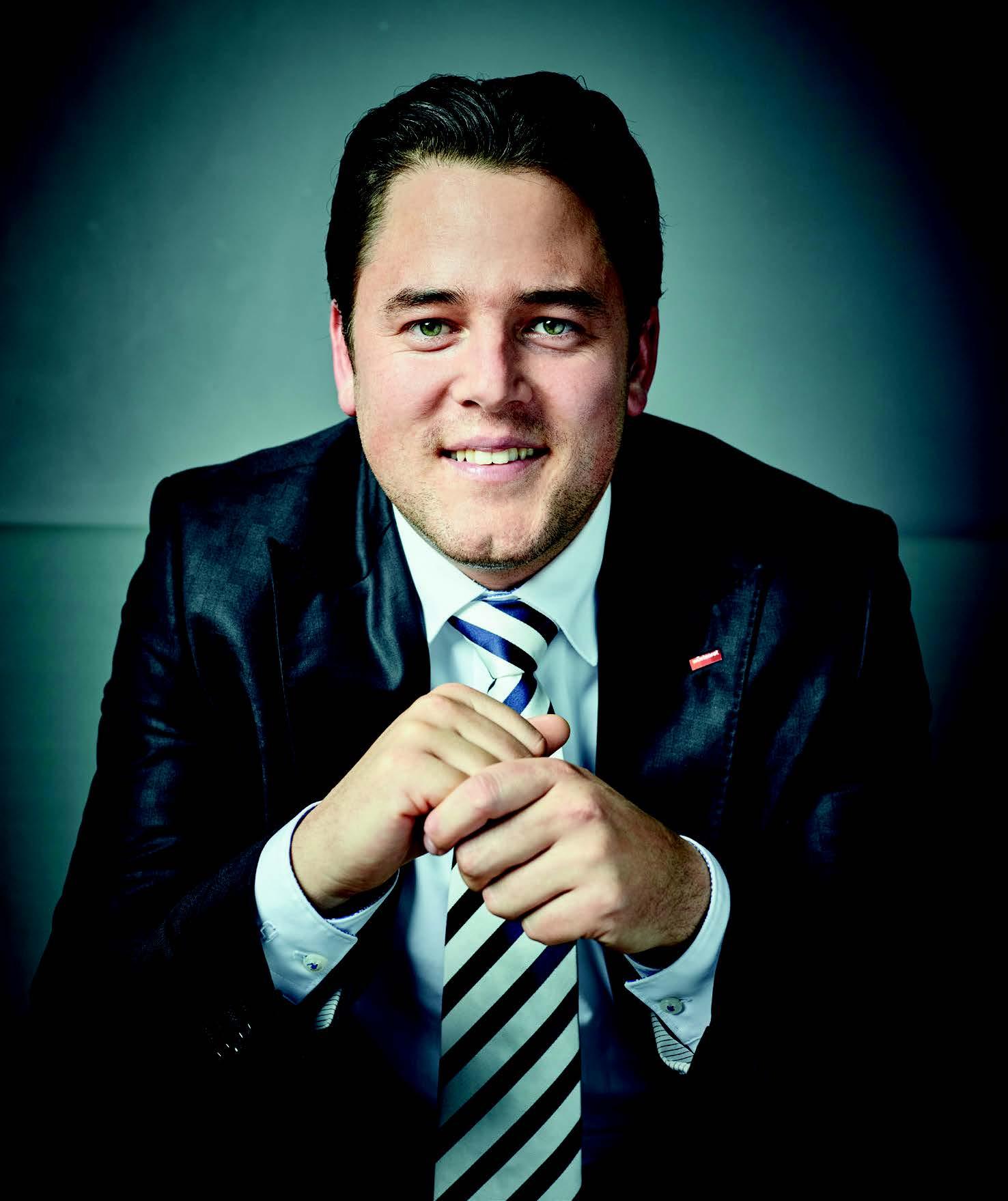 Talente gesucht: Tobias Kohl möchte in seiner Regionaldirektion eine Kaderschmiede für junge, ambitionierte Mitarbeiter schaffen.