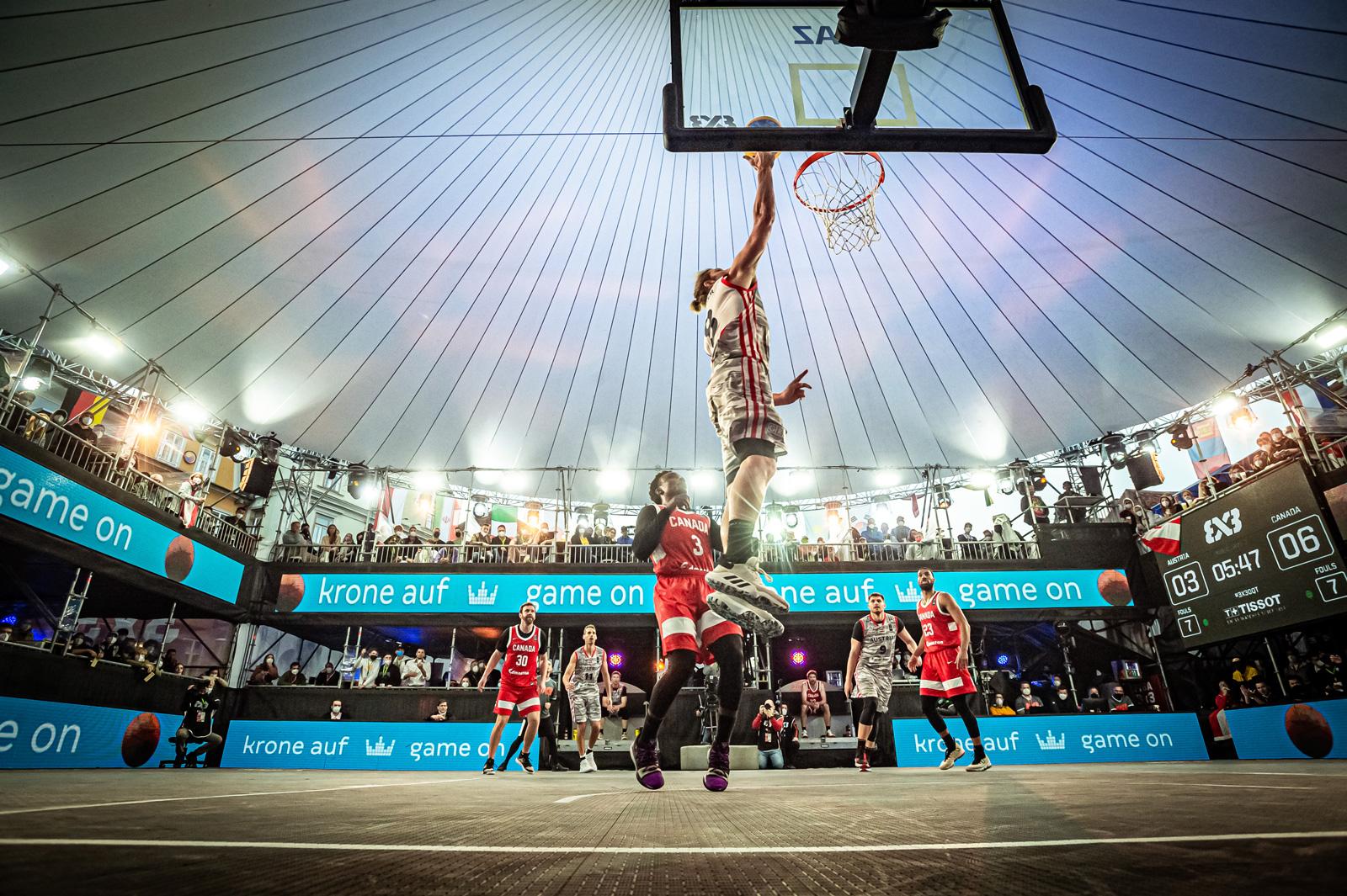 Fiba 3x3 OQT – Olympic Qualifier Tournament in Graz