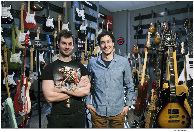 Studienfreunde: Florian Lettner und sein Co-Gründer Wolfgang Damm haben sich an der Uni kennengelernt.