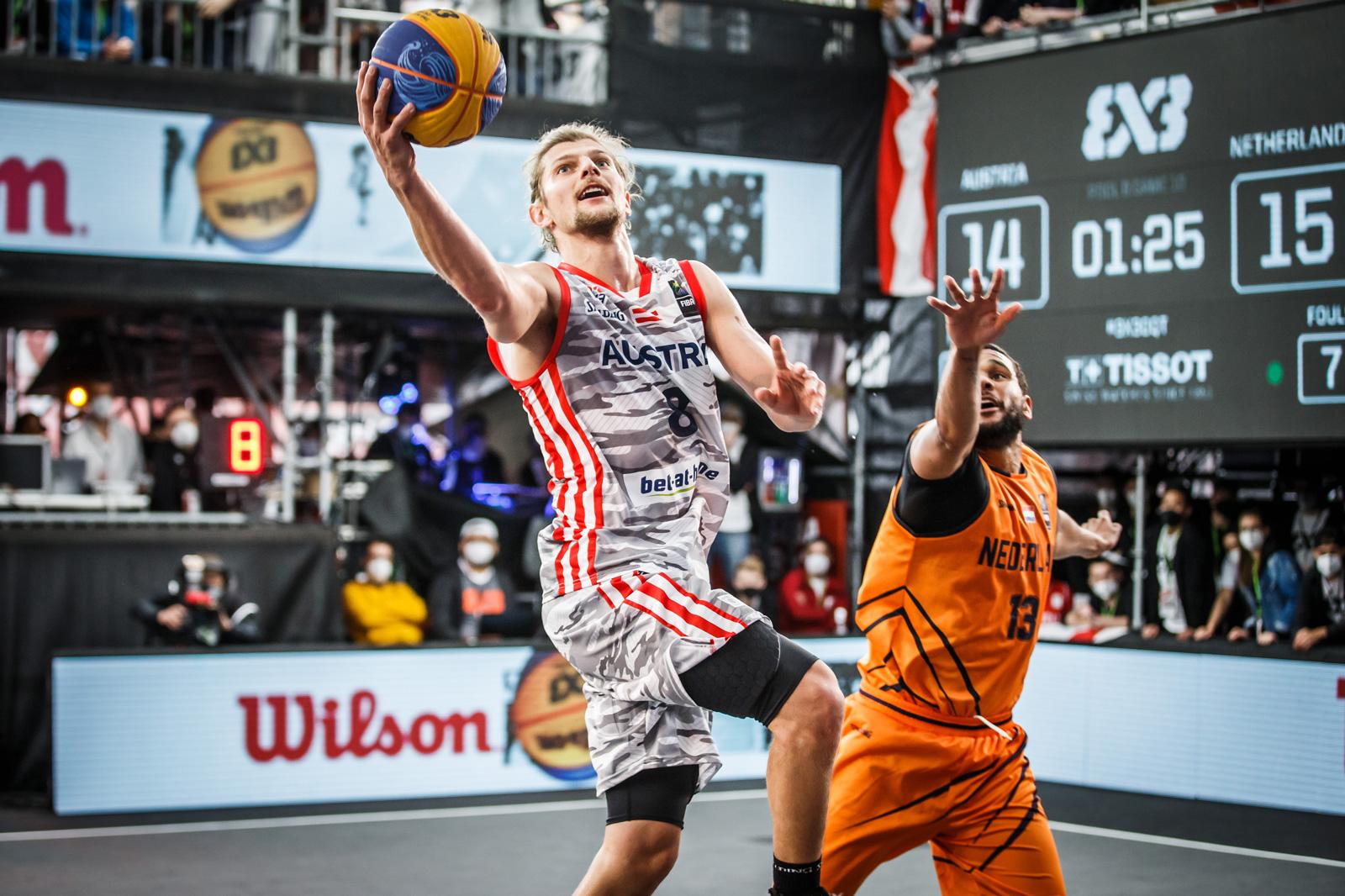 Basketball-Profi Moritz Lanegger wechselte zu 3x3