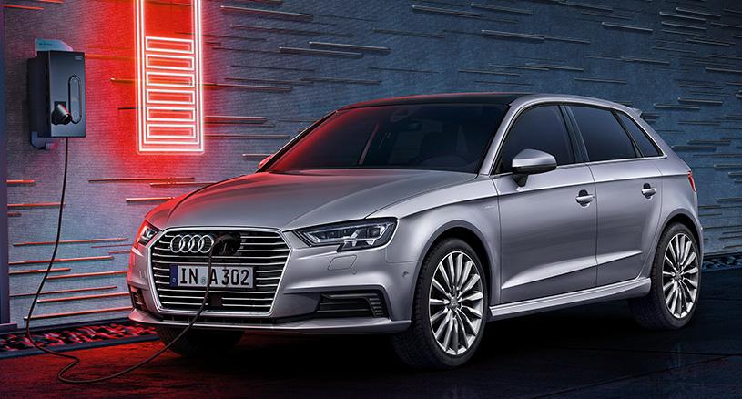 Der Audi A3 e-tron kombiniert die Vorteile des Elektroantriebs mit denen eines Verbrennungsmotors.
