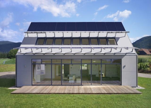 Solararchitektur in höchster Form