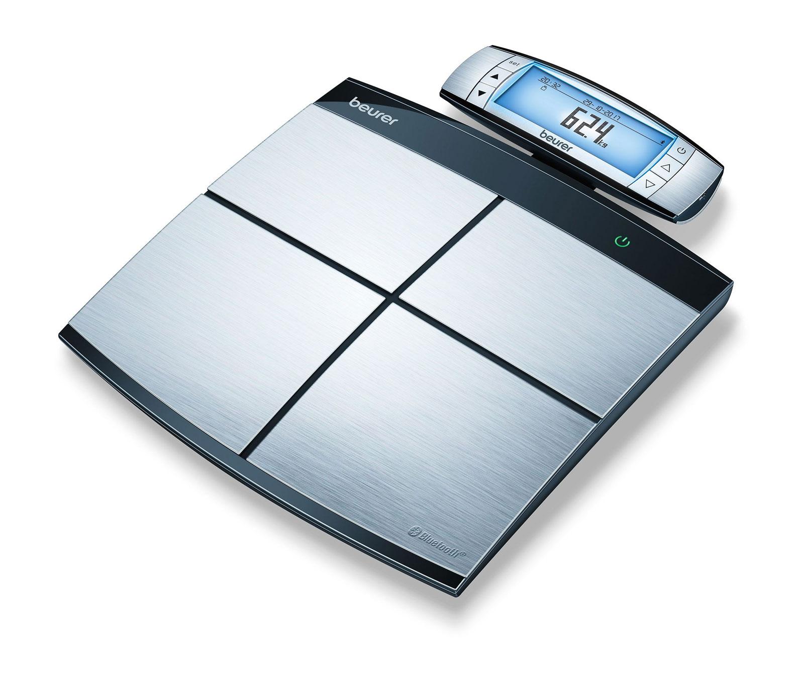 Smarte Waagen ermiiteln den prozentualen Anteil von Fett und Wasser sowie von Muskeln und Knochen.