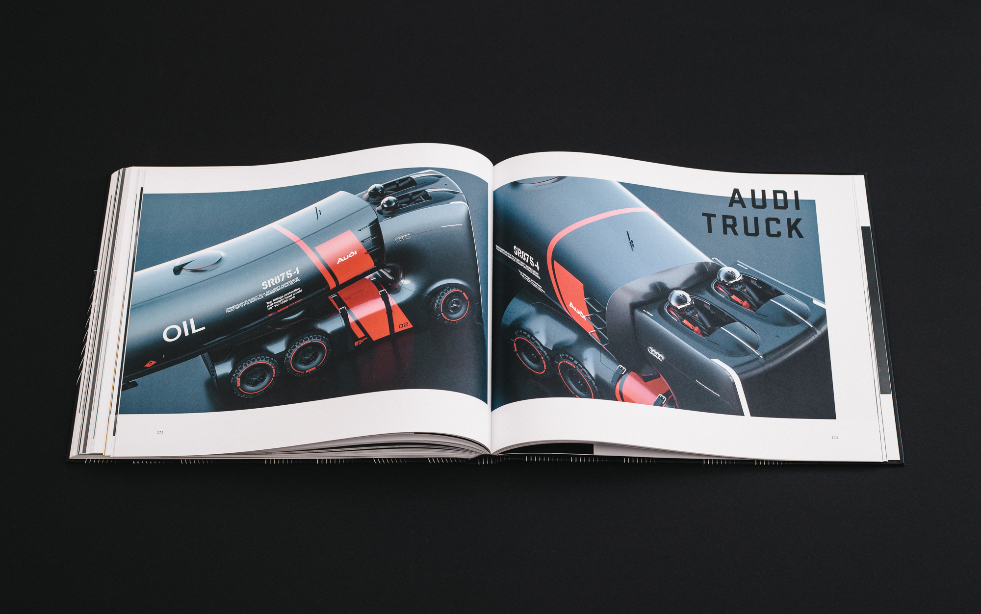 Futuristisch: Der Audi Truck von Artem Smirnov und Vladimir Panchenko fährt autonom und mit elektrischem Antrieb.