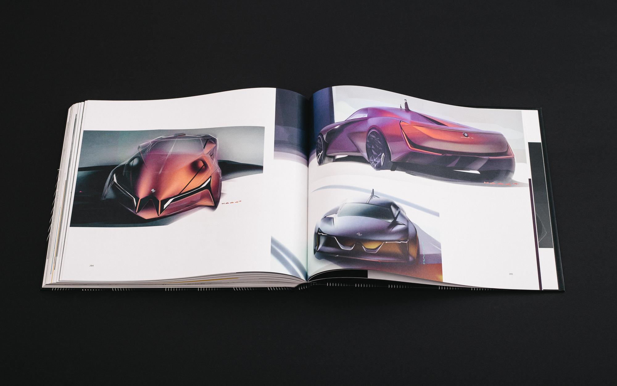 """Mit seinem Buch """"Driven"""" will Marek Simko die Konzeptstudien einem größeren Publikum zugänglich machen. Der hier gezeigte Entwurf stammt von Lukas Haag von 2014 für das Jahr 2029."""