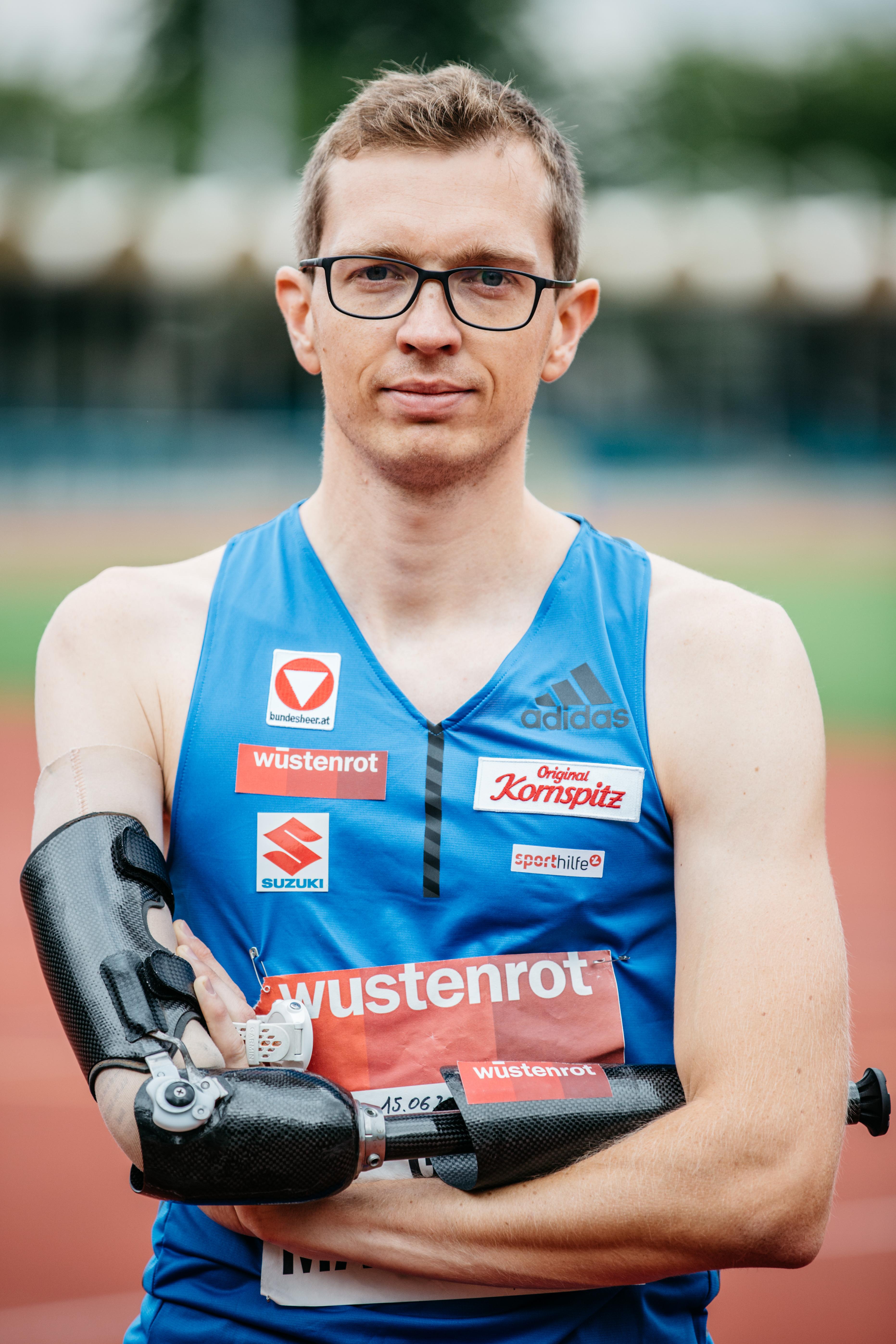 Matzinger fixierte mit seinem Sieg die erste Goldmedaille für das österreichische Team bei den Titelkämpfen in London diesen Sommer 2017.