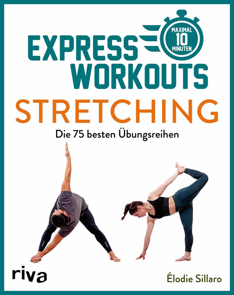 """""""Express Workouts – Stretching"""", erschienen 2021 im Riva Verlag"""