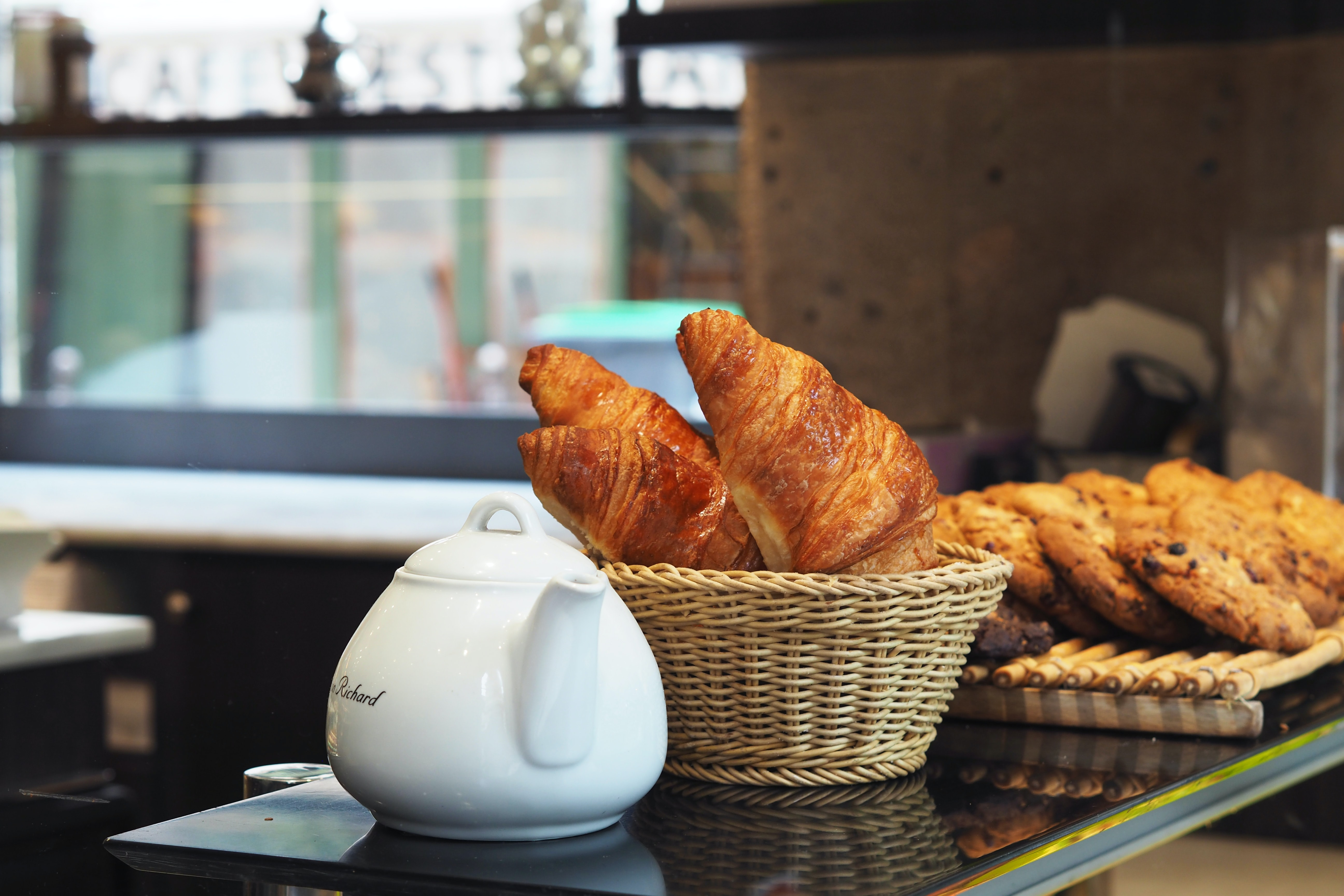 Croissants gehen immer.