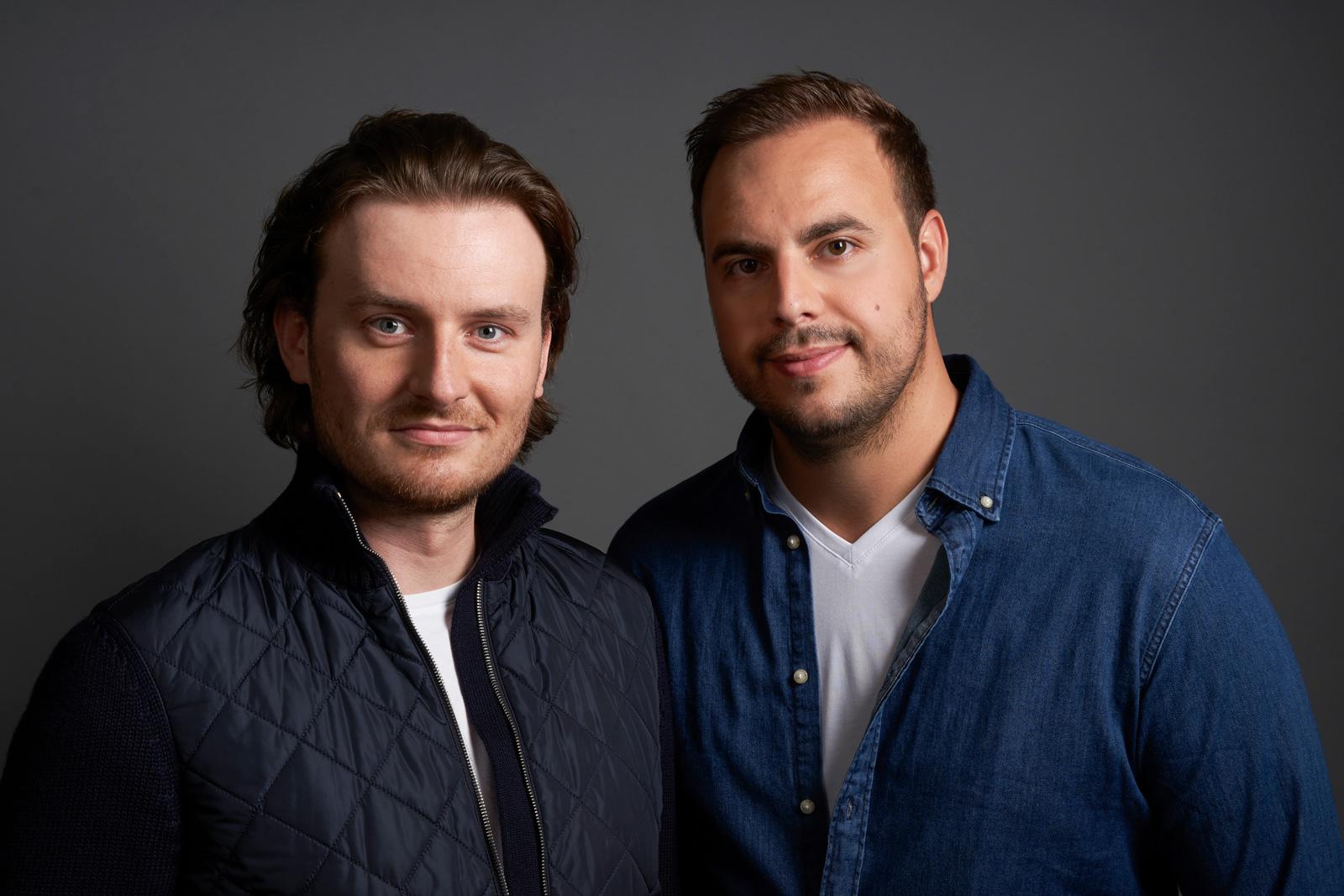 Bitpanda CEOs Eric Demuth und Paul Klanschek