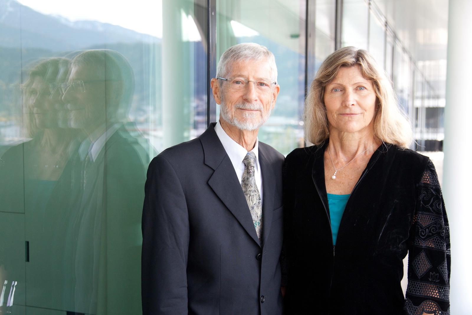 Erwin Hochmair und Ingeborg J. Hochmair-Desoyer