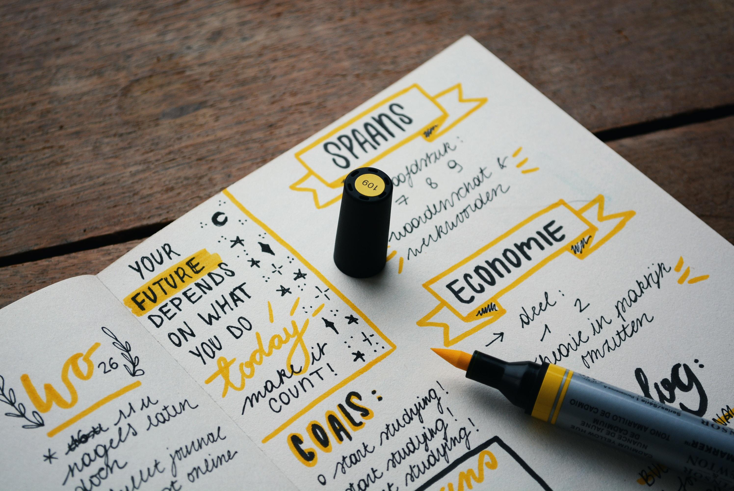 Alles ist möglich: Bei der Gestaltung kannst du dich kreativ ausleben.