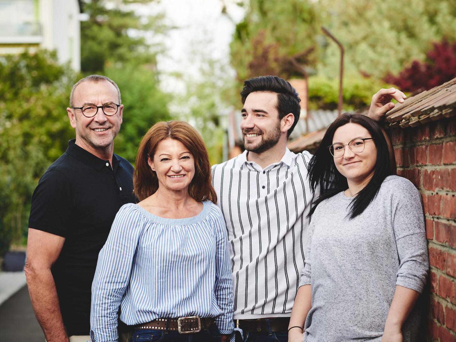 Gemeinsam zum Erfolg: Die Familie Trummer