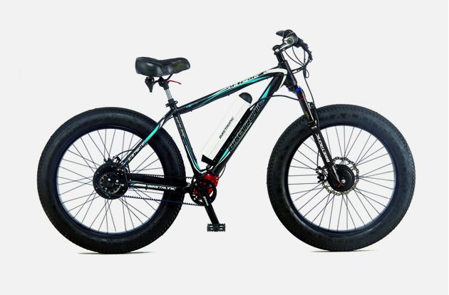 Fatbike von Biketronic: Wahlweise mit Allrad- oder Heckantrieb