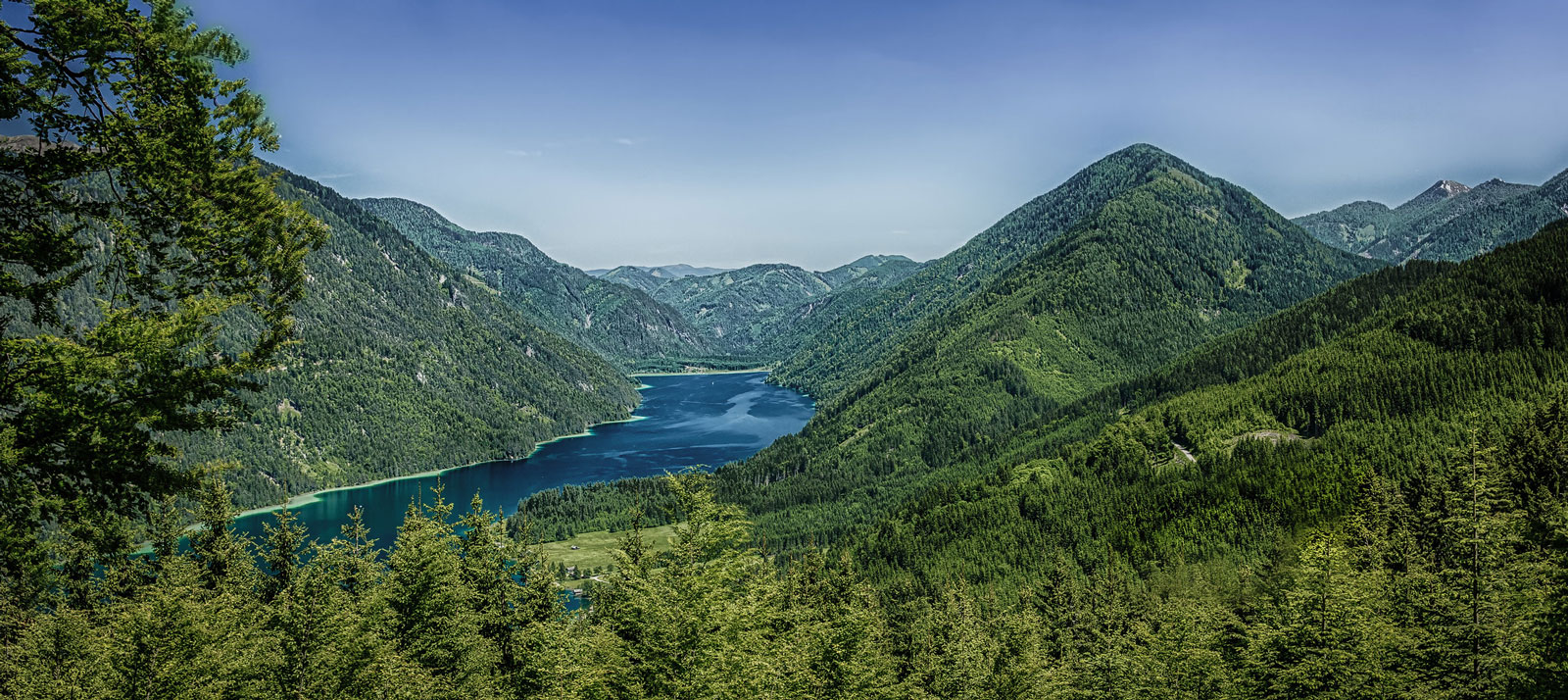 Der sauberste See Kärntens: Weißensee