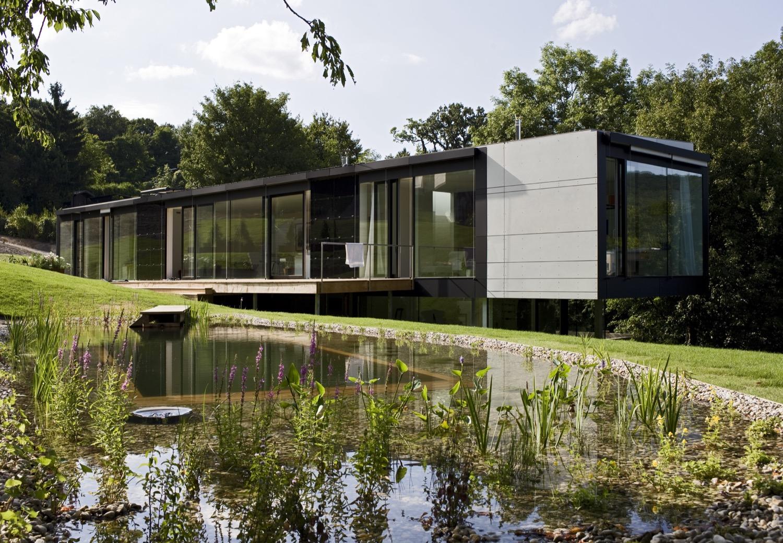 Das Zuhause von Oona Horx-Strathern und Matthias Horx, Trend- und Zukunftsforscher (zukunftsinstitut.de)