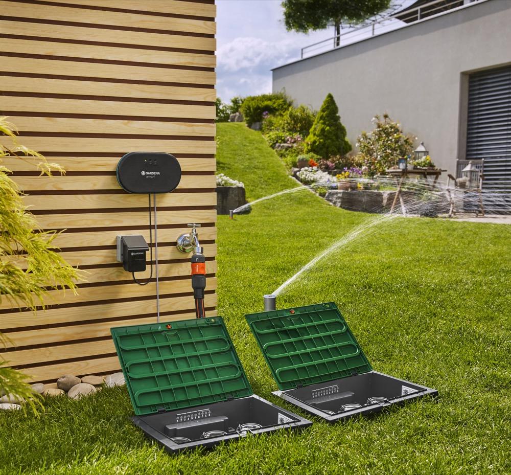 Das Komplettpaket: Gardena bietet eine Rundum-Versorgung in Sachen smarter Bewässerung.