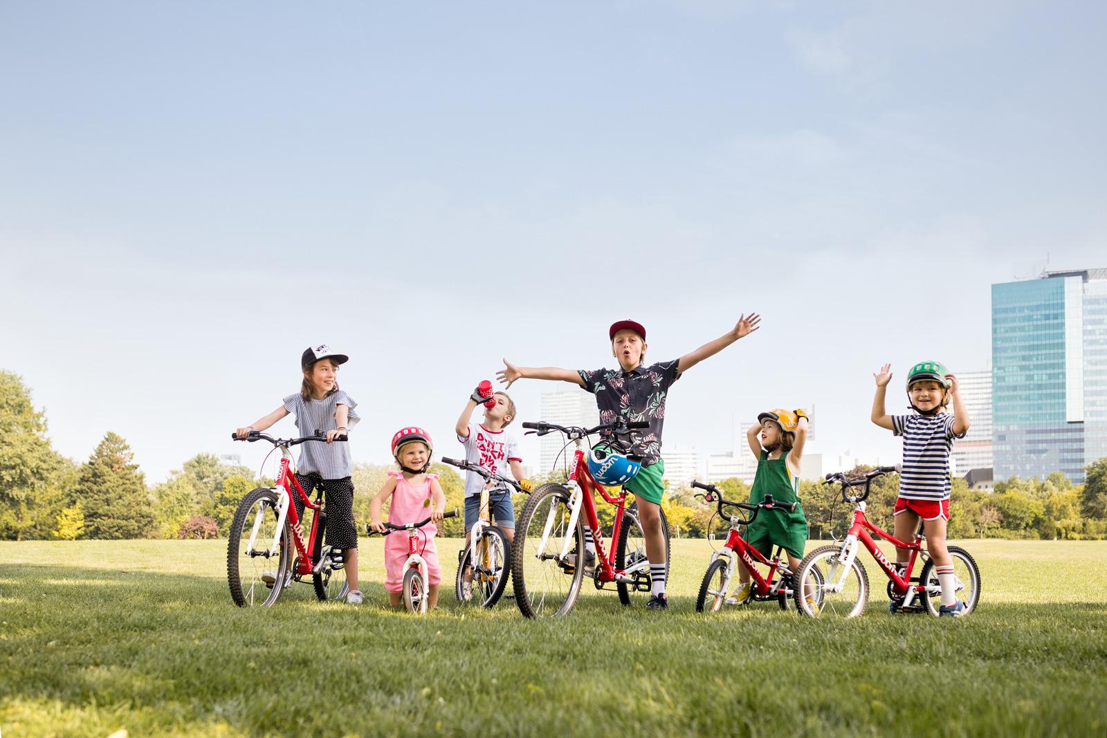 Räder in vielen Größen für die Kleinen