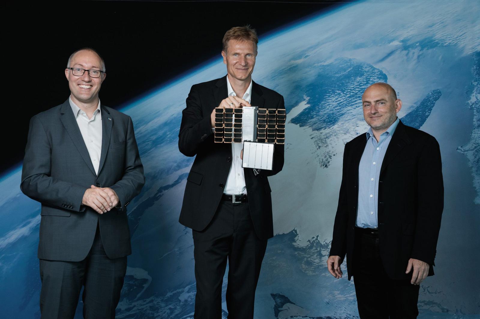Gernot Grömer/ÖWF, Christian Federspiel/Findus Venture GmbH, Peter Platzer/Spire Global