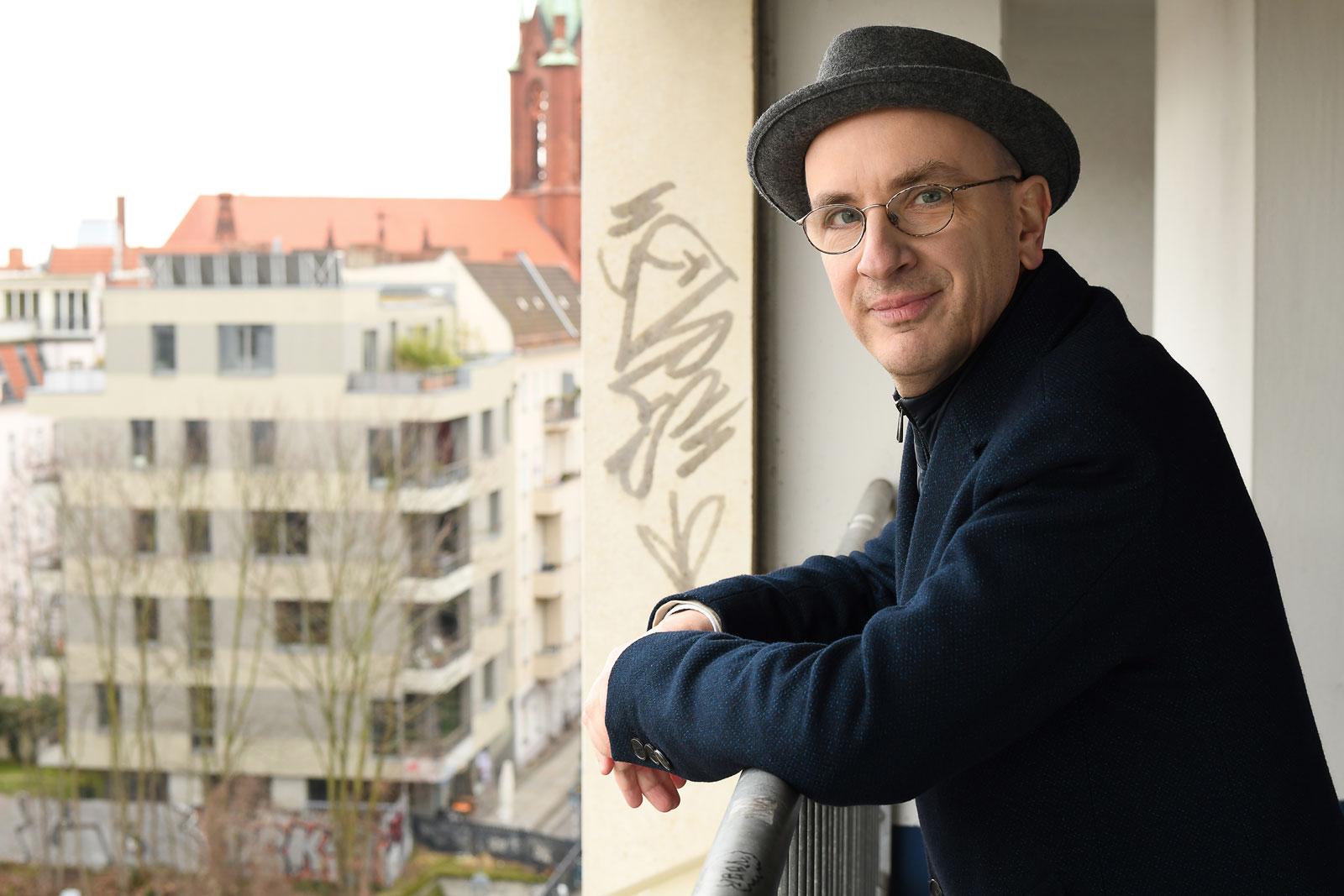 Jakob Hein ist Pychater und Schriftsteller