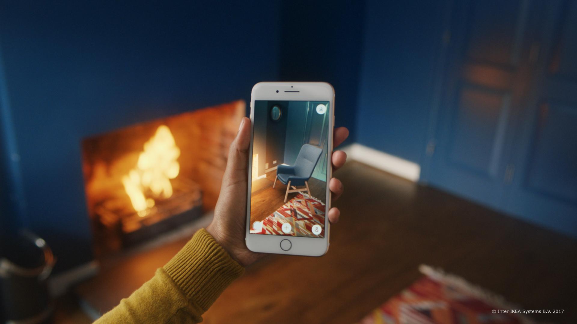 Virtuell einrichten: Die AR-App Ikea Place macht es möglich.
