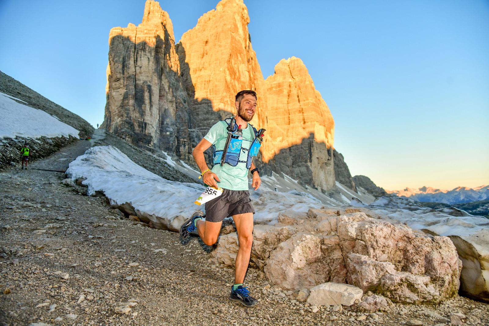 Knapp 100 Kilometer in den Beinen und (trotzdem) glücklich: Philipp Witibschlager.