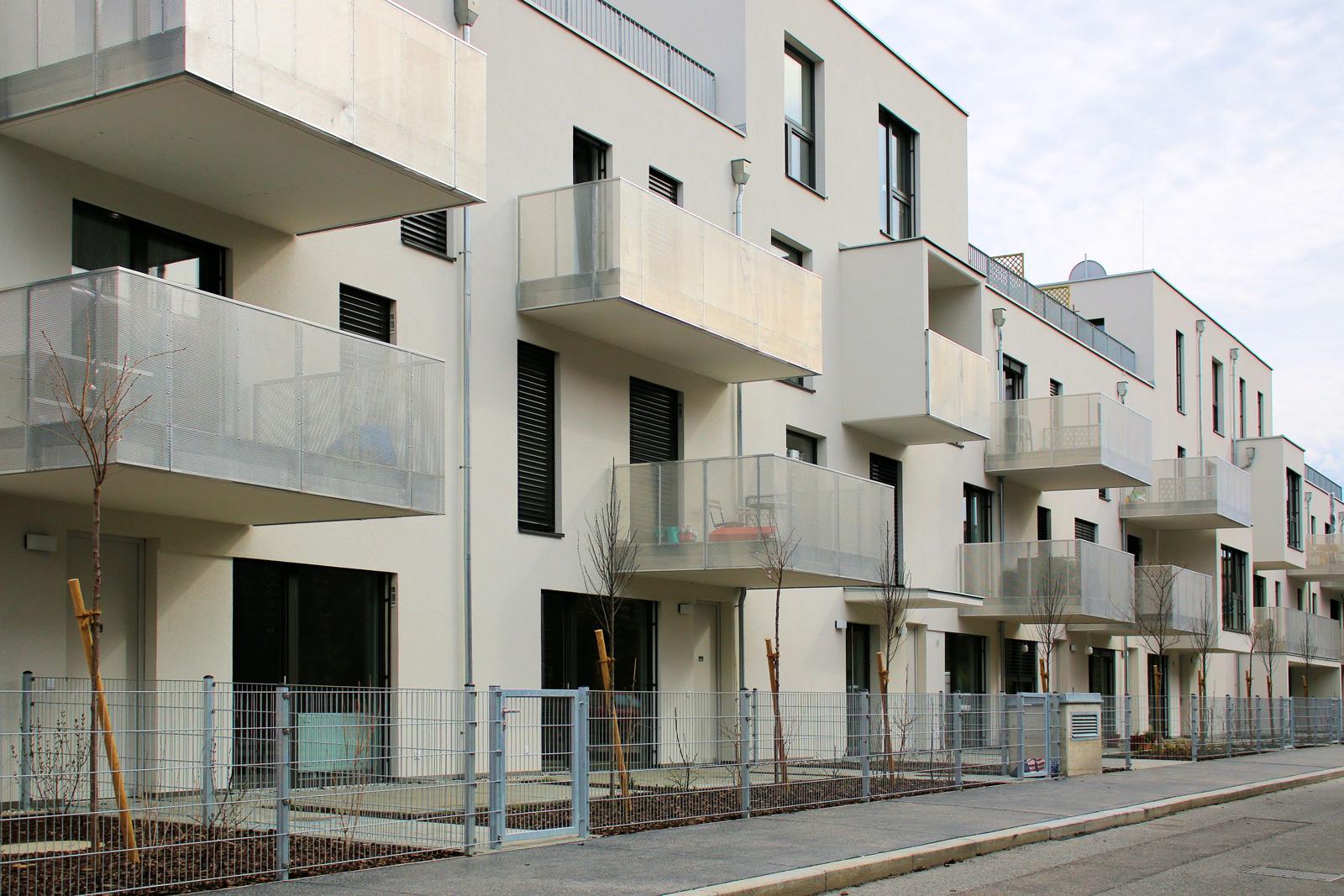 Im 21. Wiener Bezirk entstanden Wohngemeinschaften für jeweils zwei Ein-Eltern-Familien.