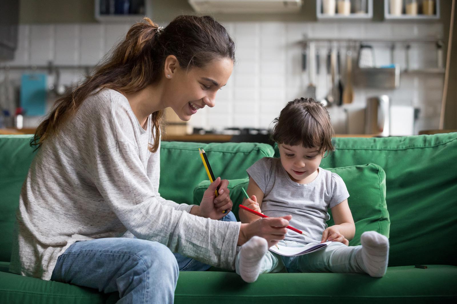 Die Betreuung von Kindern gehört zu den Hauptaufgaben eines Au-pairs.