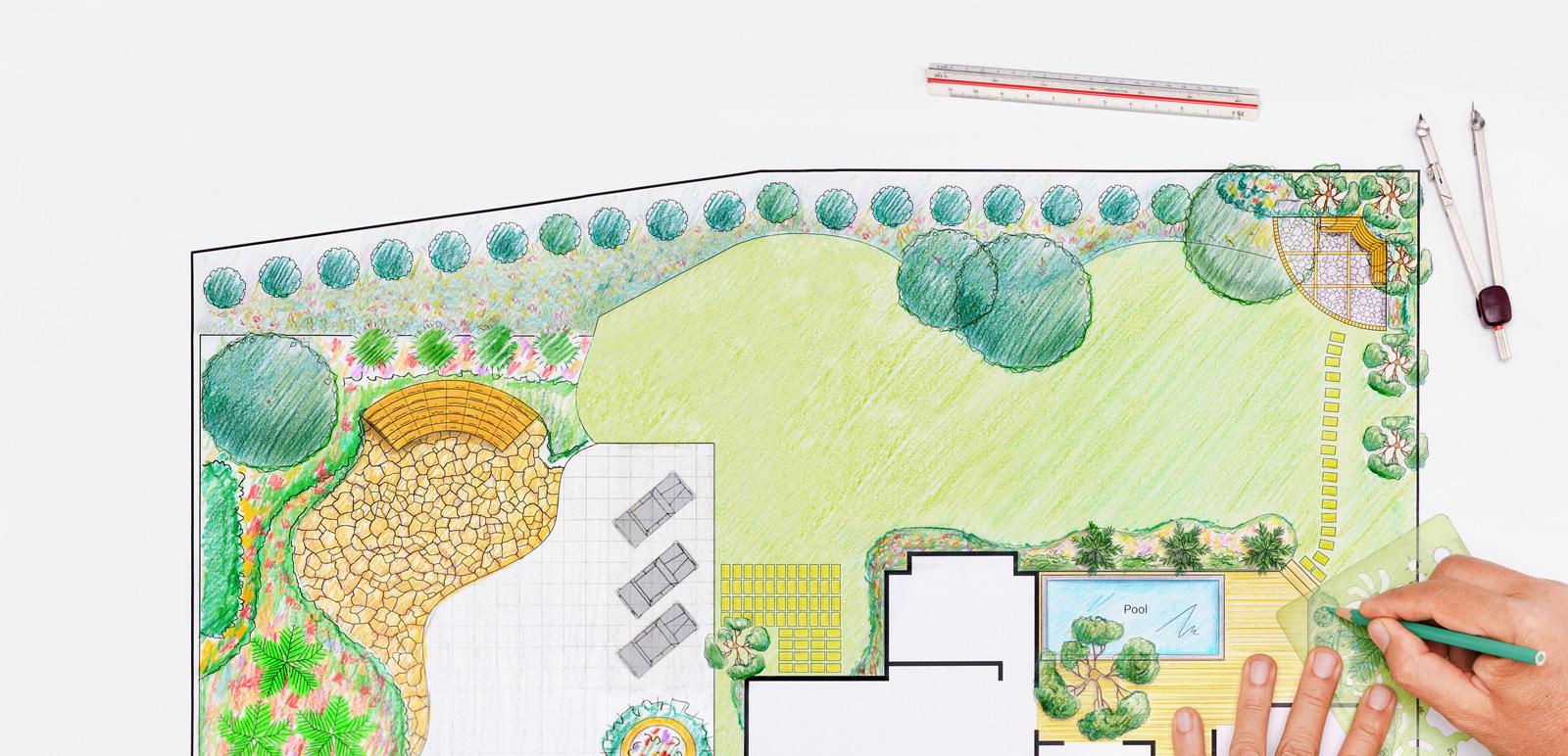 Ideensammlung: Skizzen, Moodboards und Grundrisszeichnungen helfen bei der Planung.