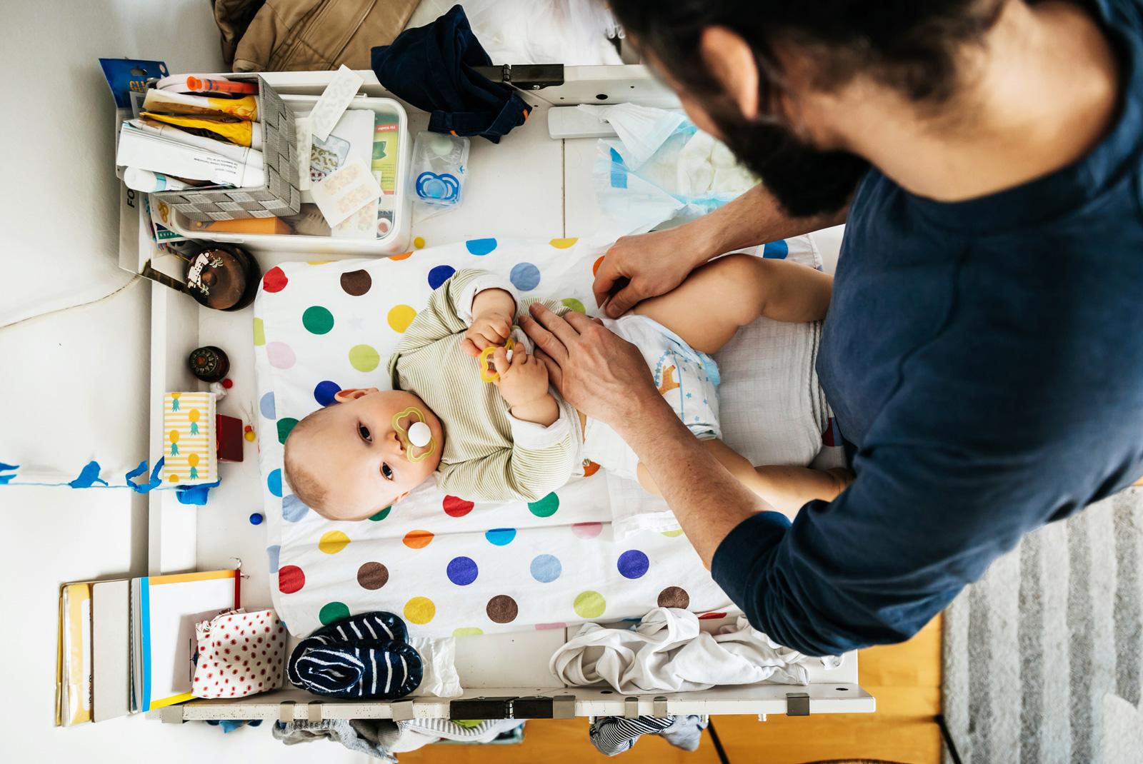 Die Väterfrühkarenz ermöglicht eine gemeinsame Betreuung in den ersten Monaten.
