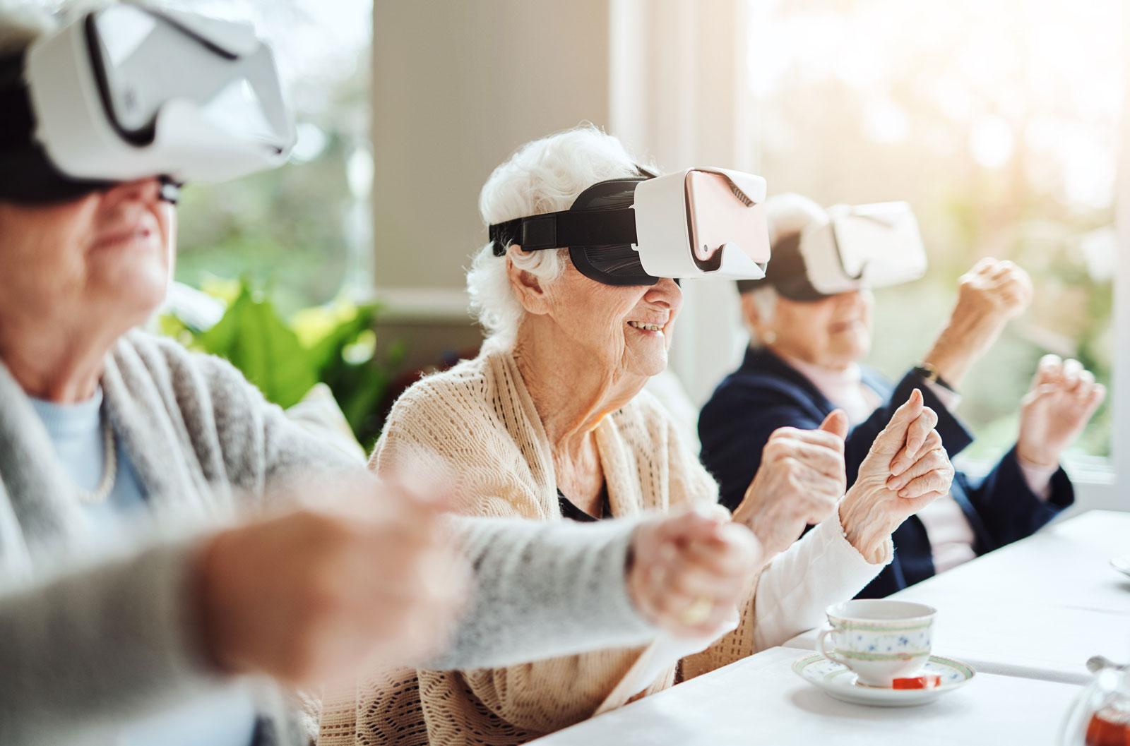 """Hilfe bei Demenzerkrankungen: """"Virtual Reality""""-Brillen"""