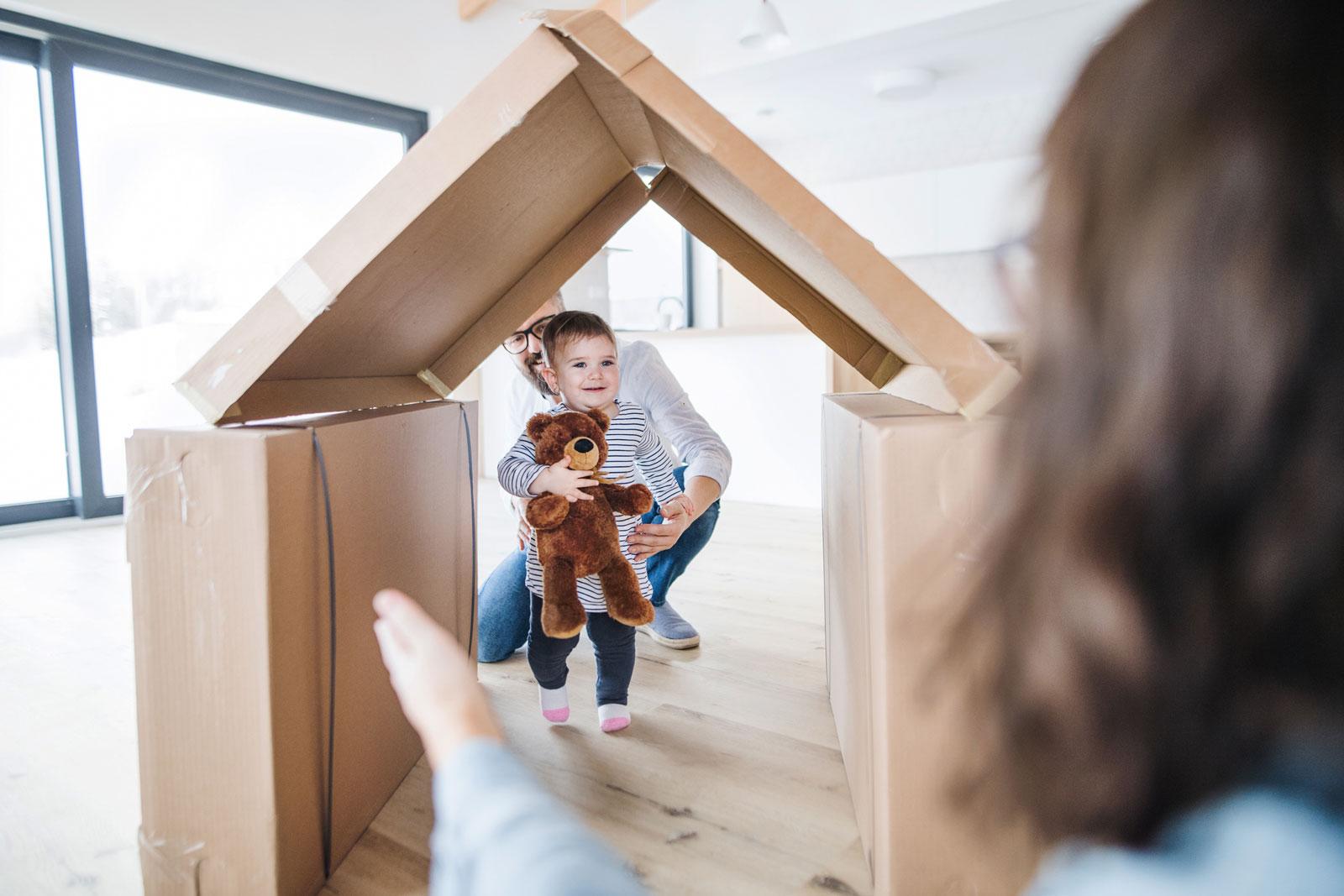 Familiengründung macht Lust auf ein eigenes Heim.