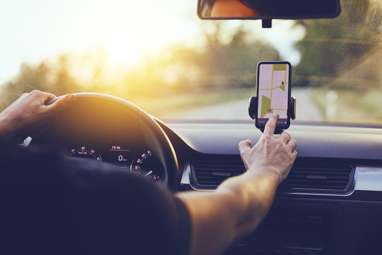 Praktisch und sicher: Halterung fürs Telefon