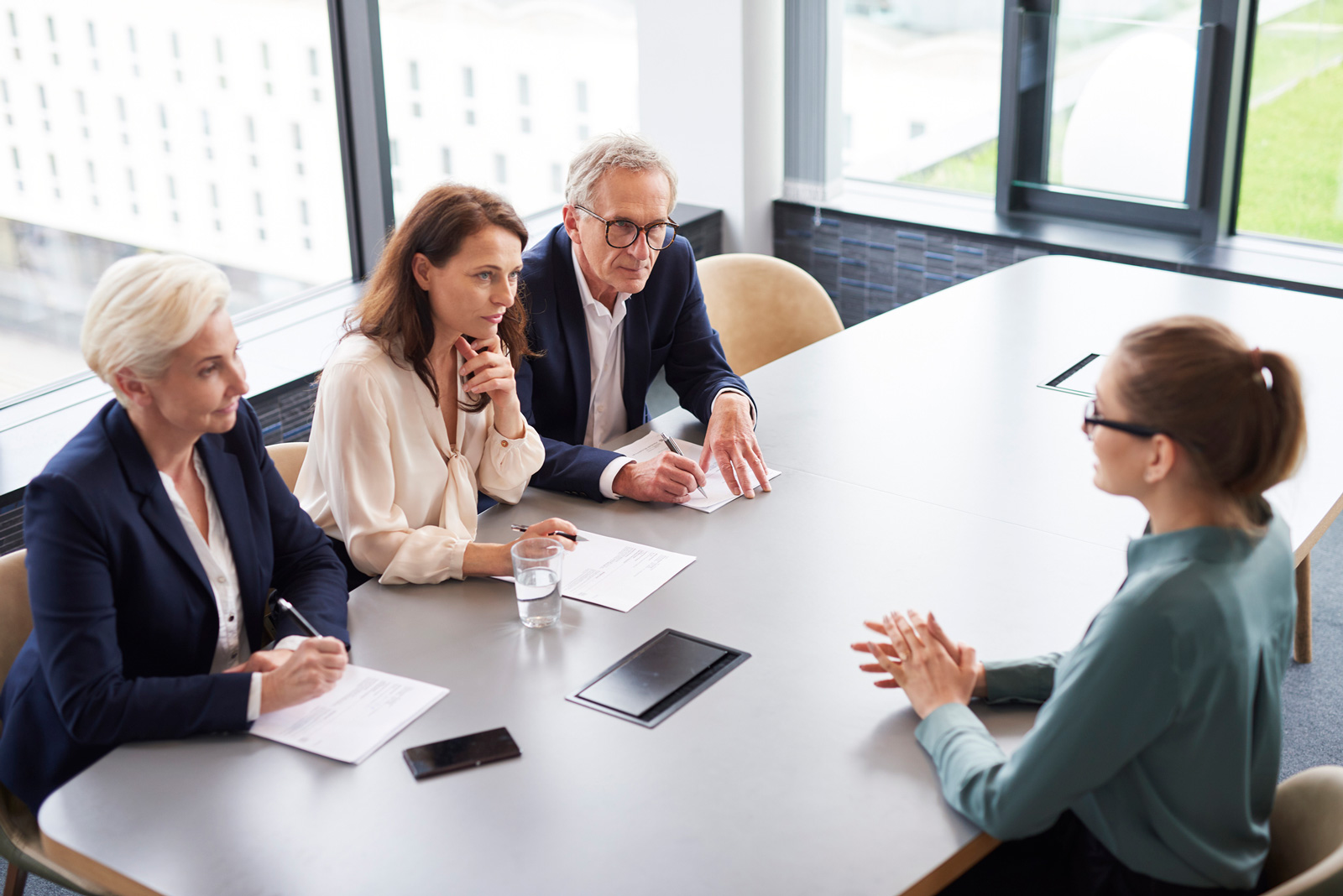 Bewerbungsgespräch: Passt das Unternehmen zu den Karrierezielen?