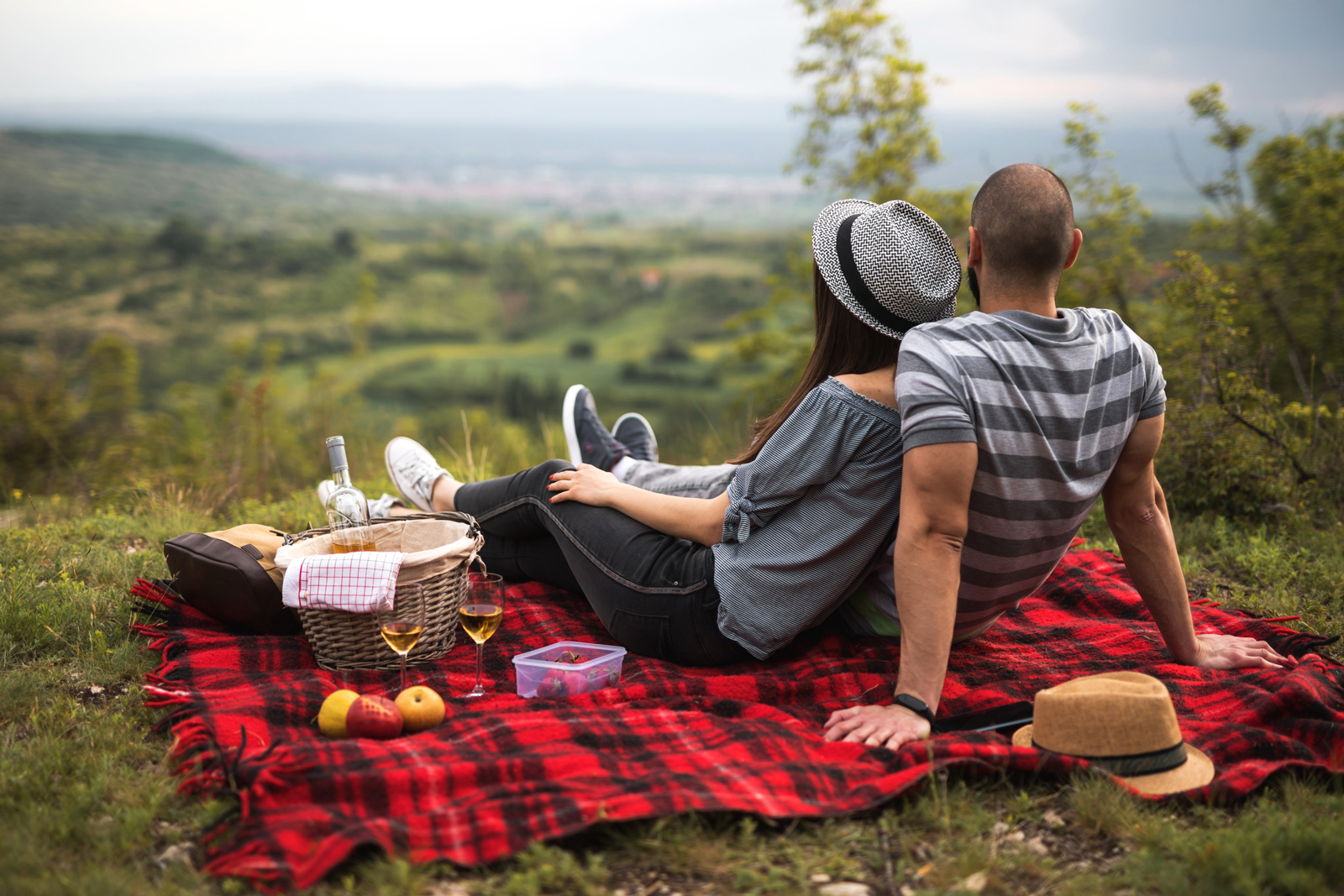 Ungezwungen: Picknick statt Restaurant