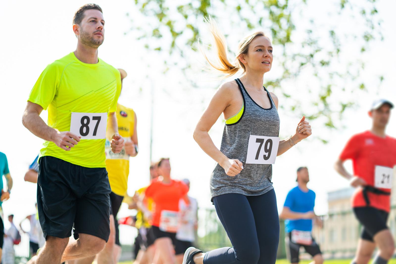 Der Vienna City Marathon, der größte Marathon Österreichs, findet seit 1984 statt.
