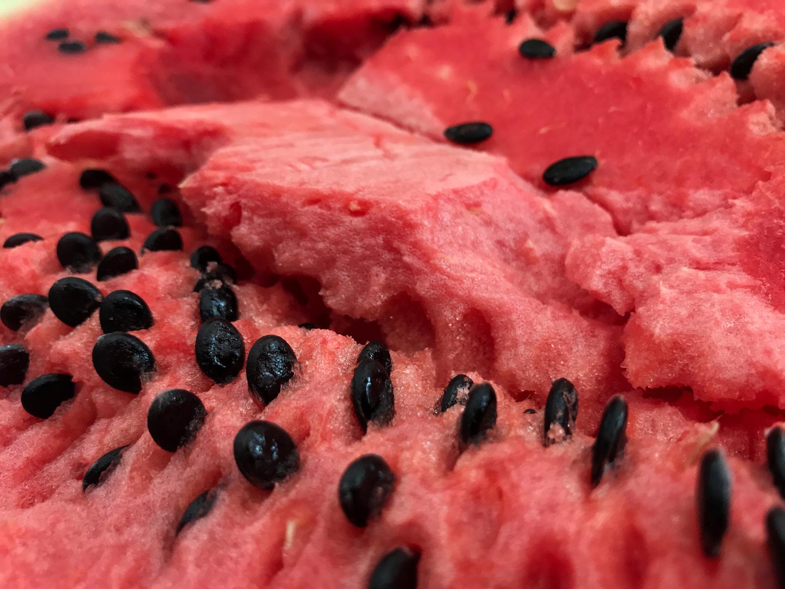 Aus Melonenkernen kann man Butter herstellen.