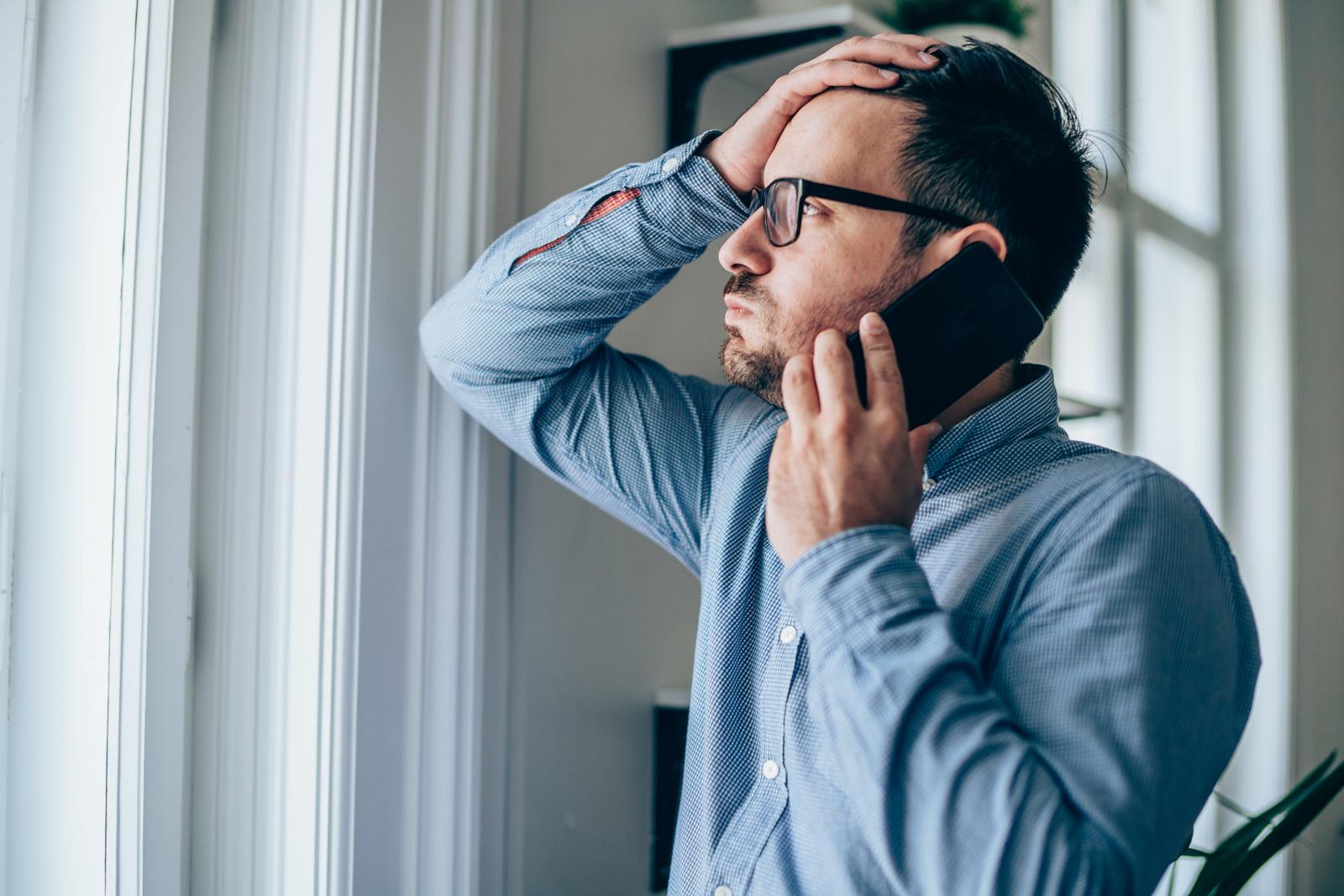 Dauerstress führt zu Erschöpfung