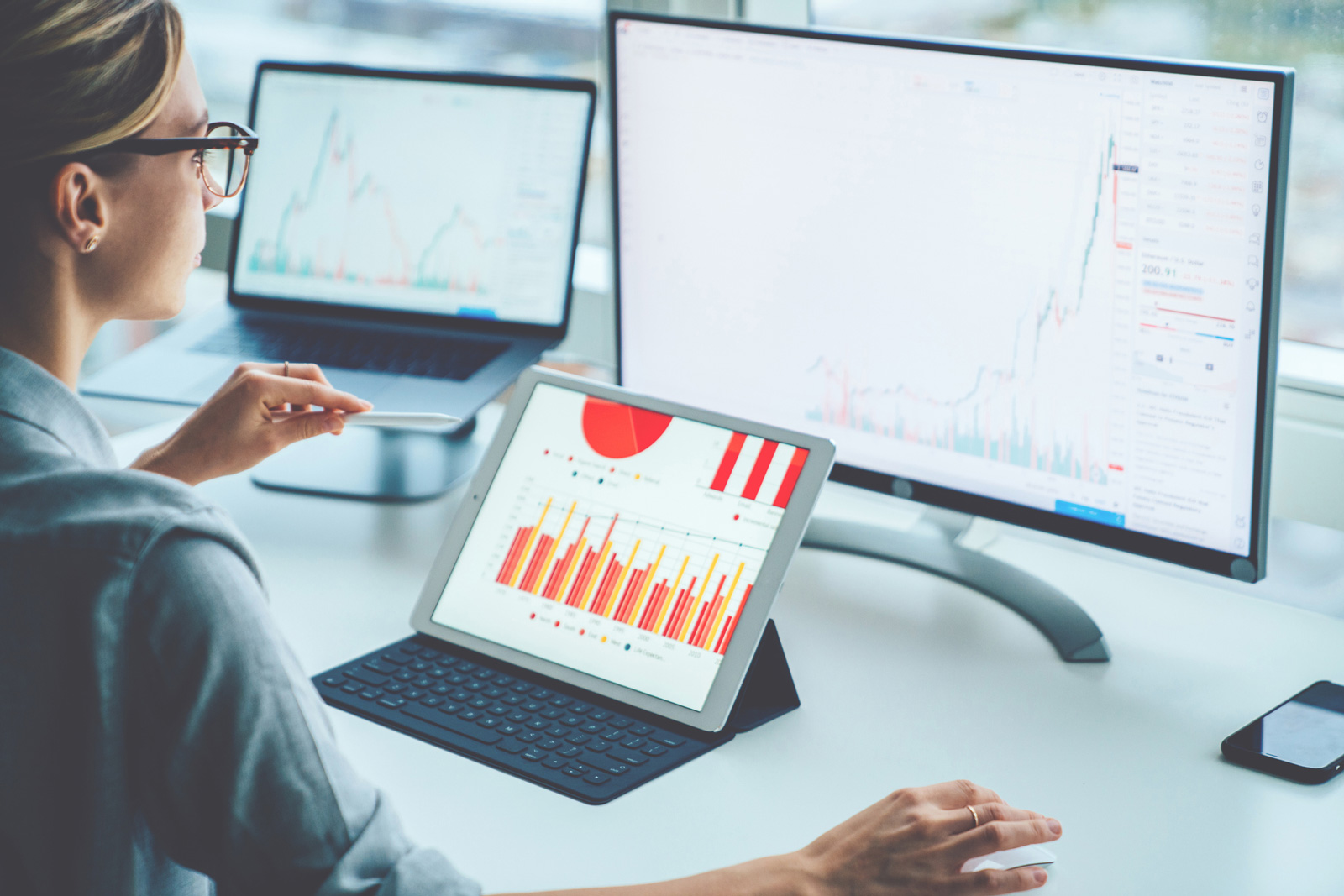 BI-Entwickler machen Daten für Unternehmen zugänglich und verständlich.