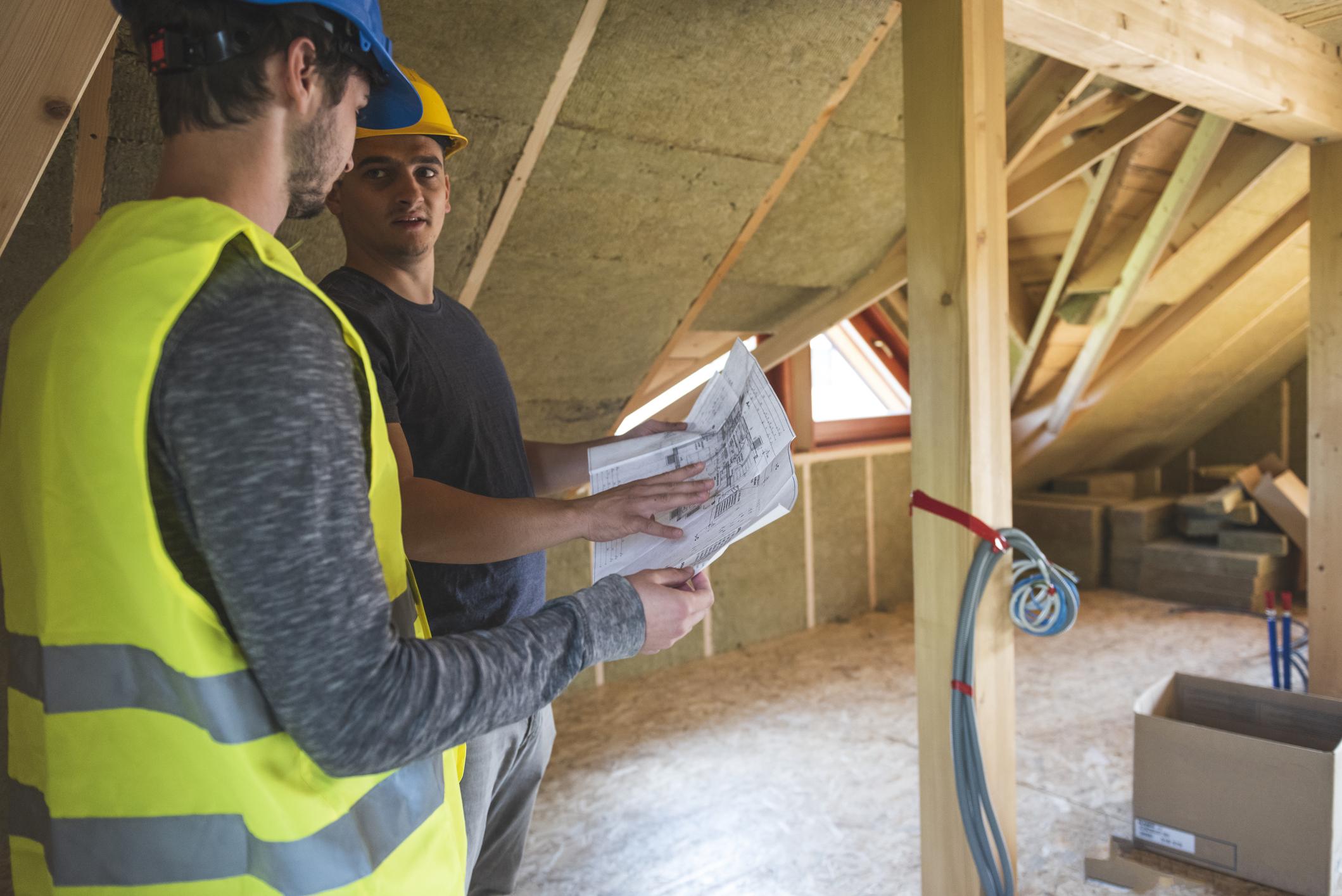 Energie-Effizienz durch Dämmung von Dach, Außenwänden und Fenstern