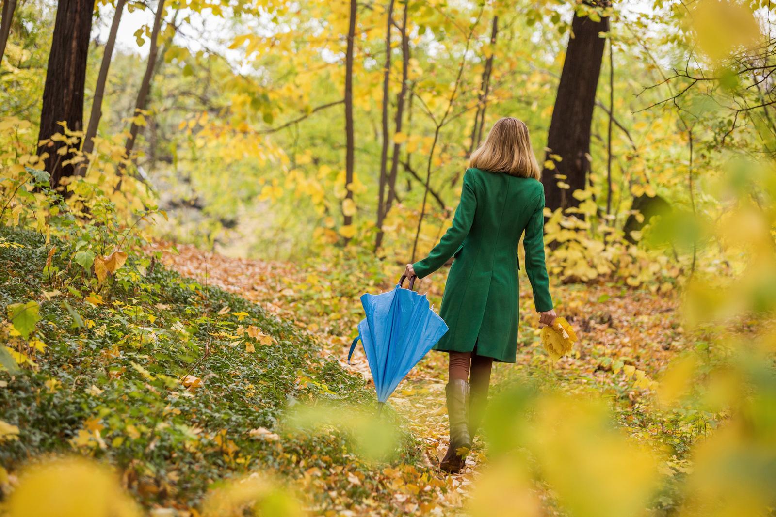 Eine Möglichkeit der Entspannung: Spaziergang in der Natur