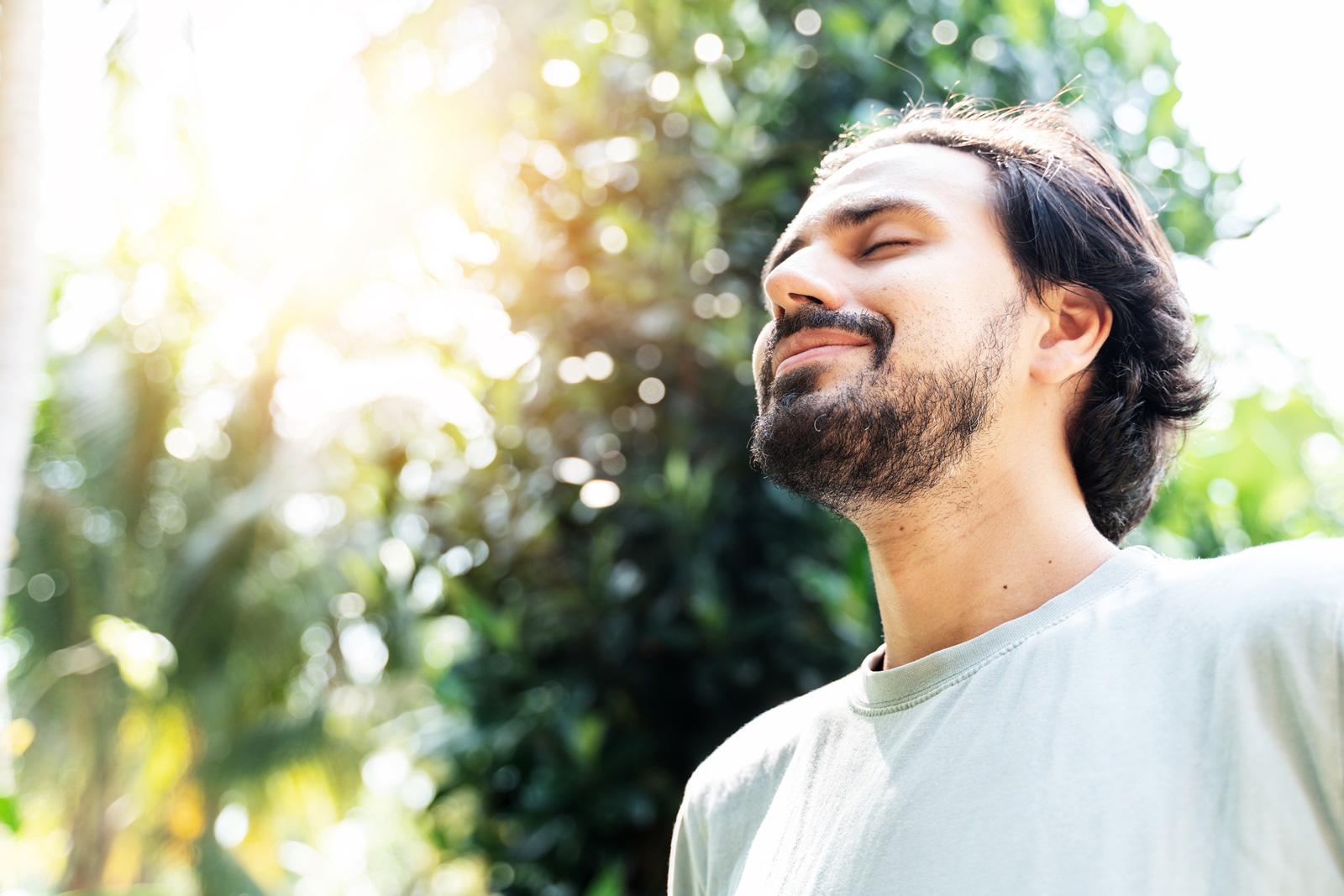 Bewußtes Atmen dient unserer Gesundheit.