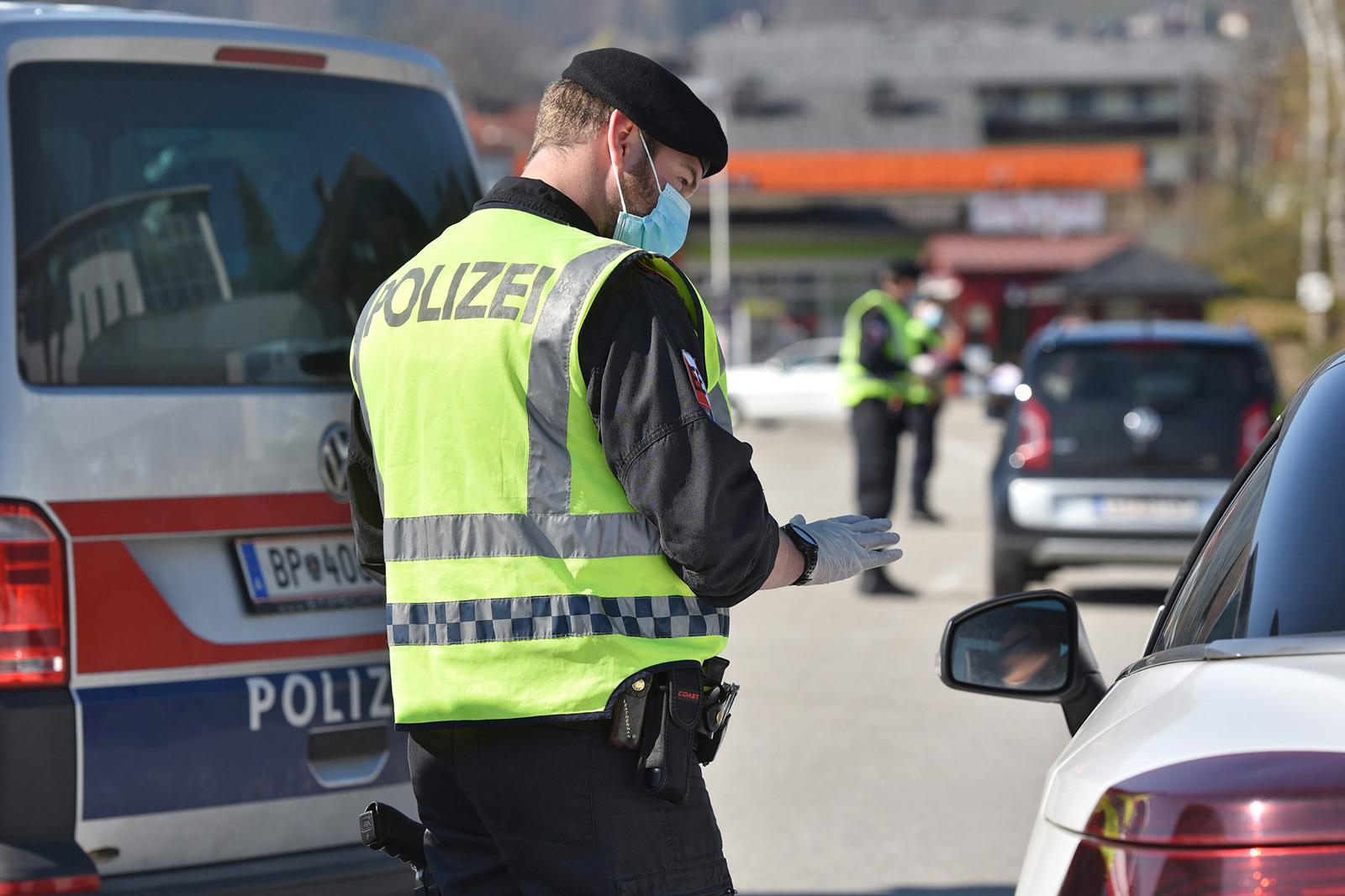 Verkehrskontrollen gehören zur Polizeiroutine