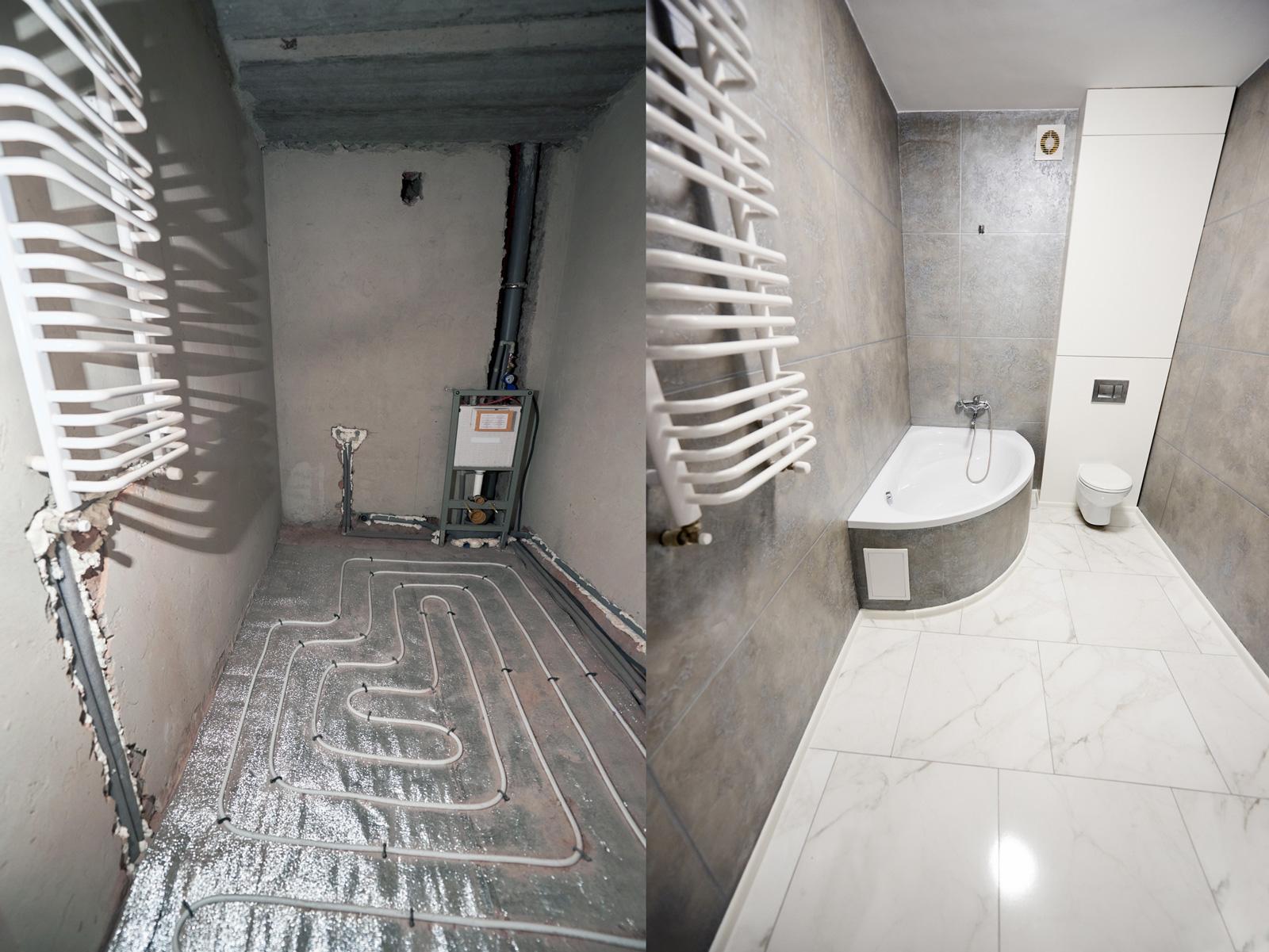 Aus alt macht neu: Badezimmer-Renovierung