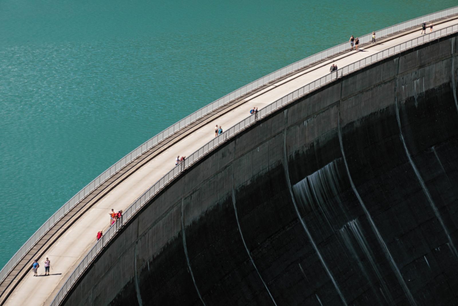 Stausee Mooserboden Damm, Kaprun